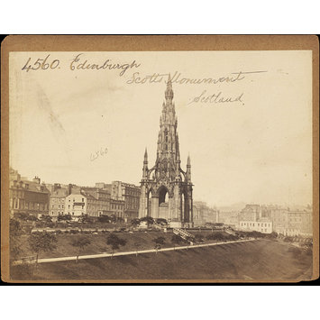 Photograph - Edinburgh.  Scotts Monument.  Scotland
