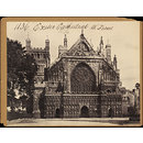 Exeter Cathedral.  W. Front (Photograph)