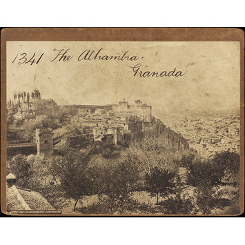 Photograph - The Alhambra.  Granada