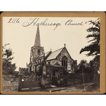 Photograph - Hathersage Church