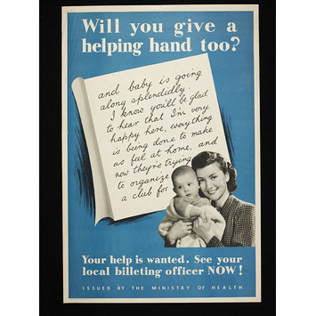 Poster - Will you give a helping hand?