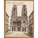 Orleans Cath'l.  W. Front (Photograph)