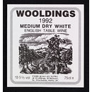 Wine label for Wooldings Vineyard and Winery (Print)