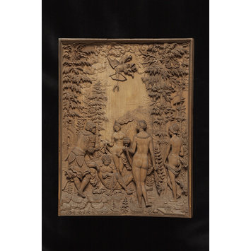 Panel-relief - The Judgement of Paris; The Dream of Paris