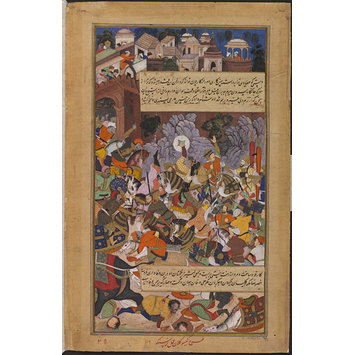 Painting - The Heroic Death in Battle of Rani Durgavati
