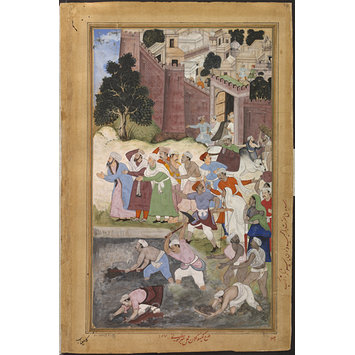 Painting - The Purification of the Kukur Talaoa near Nagor