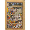 The Capture of the Rebel Bahadur Khan (Painting)