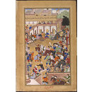 Akbar's victorious return to Fatehpur Sikri (Painting)