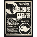 Support Eldridge Cleaver for President (Poster)