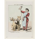 Le Fils De Cerbre; Le portier antique et le Cerbre moderne! (Print)