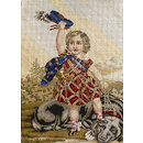 Edward VII as a child (Embroidered picture)