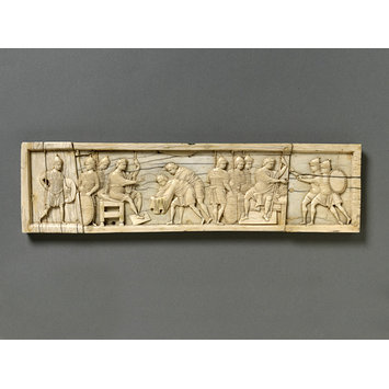 Plaque - Scenes from the book of Joshua