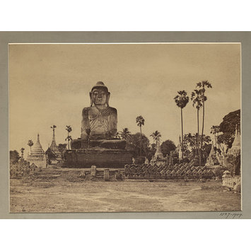 Photograph - Colossal Statue of the Gautama close to the N.end of the wooden bridge