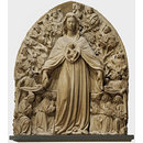 Virgin and Child with kneeling members of the Guild of the Misericordia (Relief)