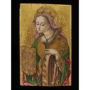 St Catherine of Alexandria (Panel from an altar piece)