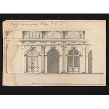Design - 'The Great Hall', London: East India House