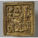 The Nativity and Annunciation to the Shepherds (Plaque)