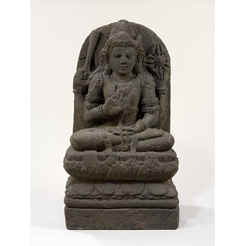 Sculpture - Seated Figure of a Bodhisattva