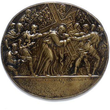 Plaquette - Christ bearing the Cross
