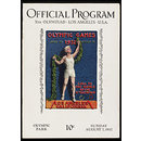 Official Program Xth Olympiad - Los Angeles - USA (Souvenir programme)