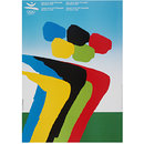 Games of the XXV Olympiad 1992 (Poster)