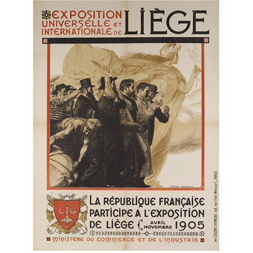 Poster - Exposition Universelle Lige