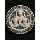 Roundel depicting Julia (?) Augustus &amp; Agrippa (Roundel)
