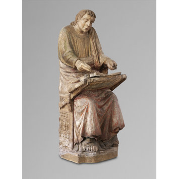 Figure - Saint Ambrose, possibly