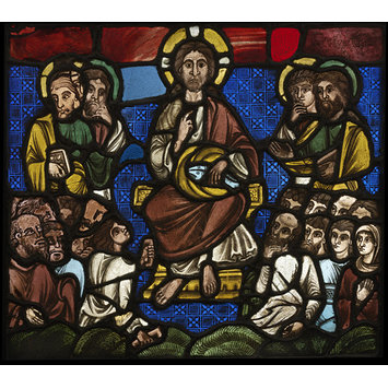 Panel - Christ Feeding the Five Thousand; Miracle of the Loaves and Fishes