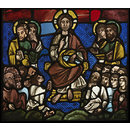 Christ Feeding the Five Thousand; Miracle of the Loaves and Fishes (Panel)