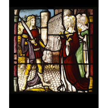 Panel - Triumph of David; David and Goliath