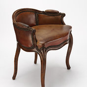 Foot-rest from a <i>chaise-longue</i>