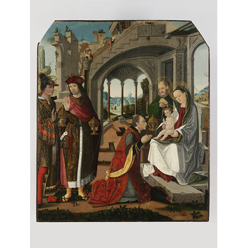 Oil painting - The Adoration of the Magi