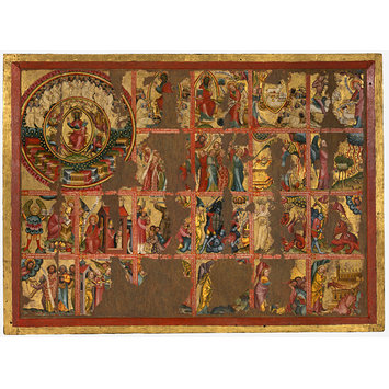 Altarpiece - Altarpiece with 45 Scenes of the Apocalypse
