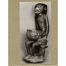 Seated figure with bowl. Bafum (Photograph)