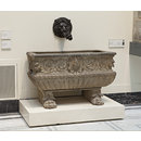 Basin of a wall fountain (Basin of a wall fountain)