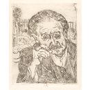 L'Homme à la Pipe; Portrait of Dr. Paul Gachet (Print)