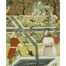 Babur Supervising the Laying Out of the Garden of Fidelity (Opaque watercolour)