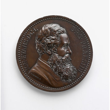 Medal - John Evans/anniversary of the Numismatic Society of London