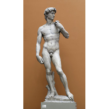 Plaster cast - David