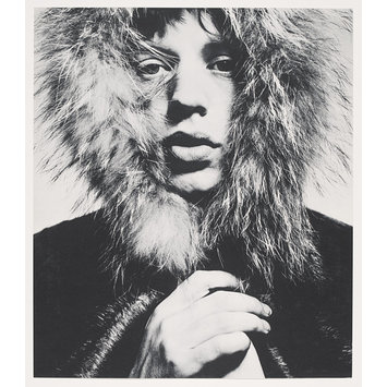 Photograph - David Bailey's box of pin-ups; Mick Jagger