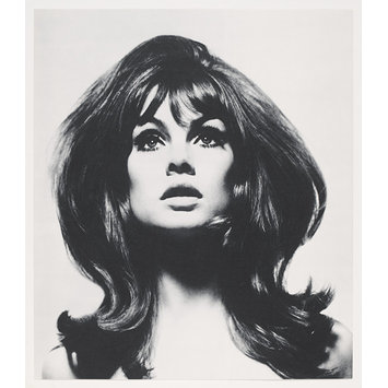 Photograph - David Bailey's box of pin-ups; Jean Shrimpton