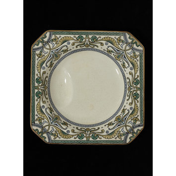Soup plate - Shanghai pattern
