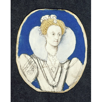 Portrait miniature - Elizabeth I