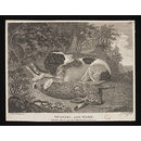 SPANIEL AND HARE (Print)