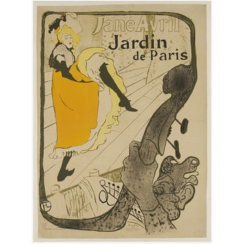 Poster - Jane Avril au Jardin de Paris