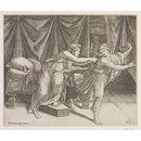 Joseph and the Wife of Potiphar (Print)