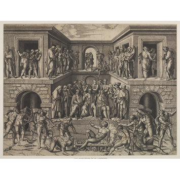 Print - Martyrdom of St. Lawrence
