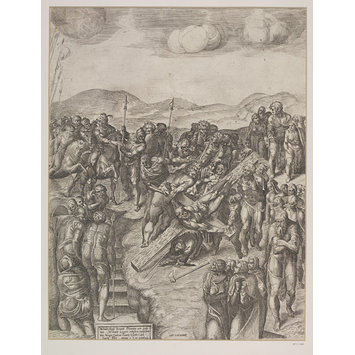 Print - Martyrdom of St. Peter