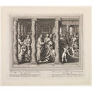 The Seven Famous Cartons [sic] of Raphael Urbin; The Healing of the Lame Man; St. Peter and St. John Healing the Lame Man; Raphael Cartoons (Print)